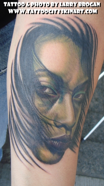 Tattoos - Green Geisha - 22590