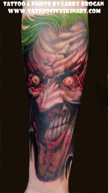 Tattoos - Joker from Arkham Asylum - 25150