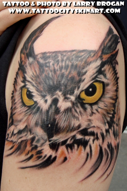 Tattoos - Stevie the Owl - 25148