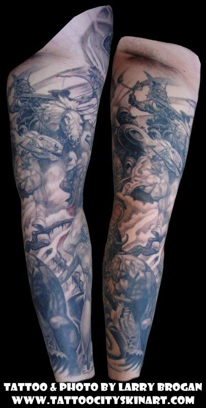 Tattoos - Frank Frazetta Sleeve - 58684