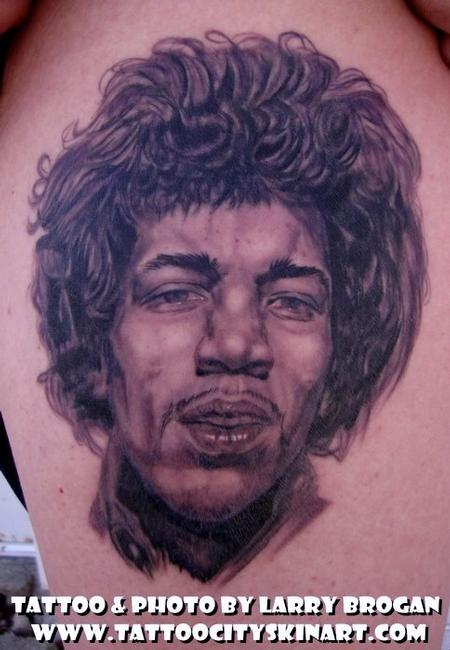 Tattoos - Jimi Hendrix Purple Haze - 58674
