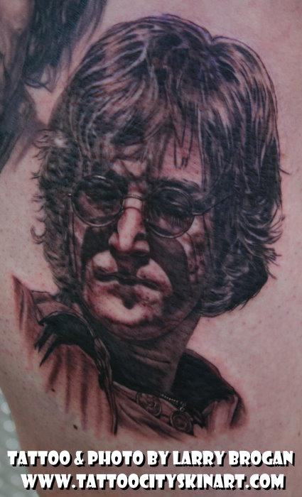 Tattoos - John Lennon portrait - 58675