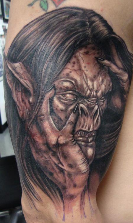 Tattoos - Spotted Demon - 66802