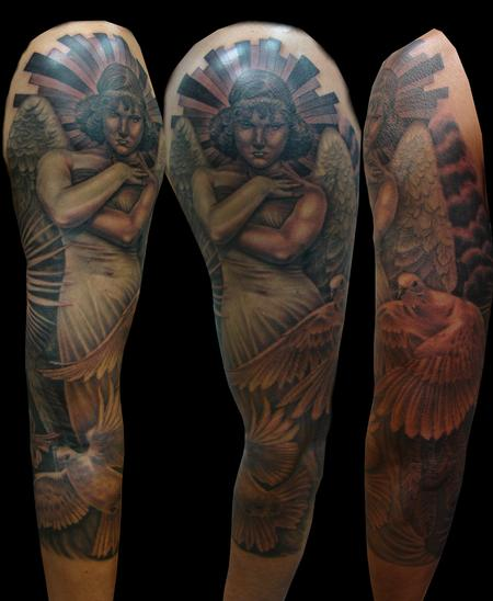 Heavenly Angel Tattoo Design Thumbnail