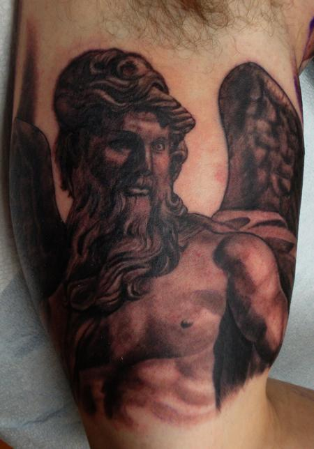 Tattoos - Manly Angel - 98456