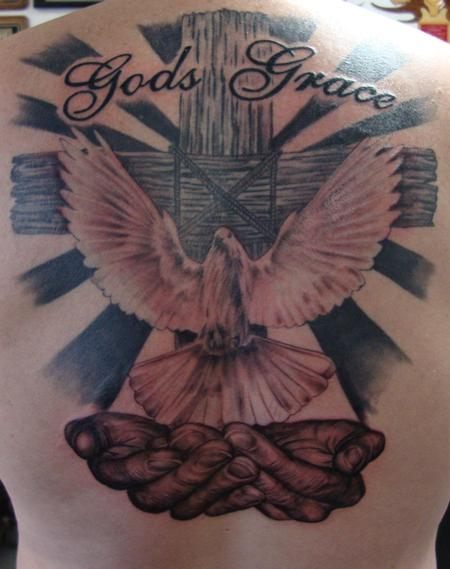 God's Grace Tattoo Design Thumbnail