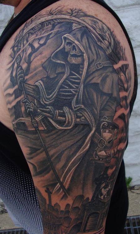 The Reaper Tattoo Design Thumbnail