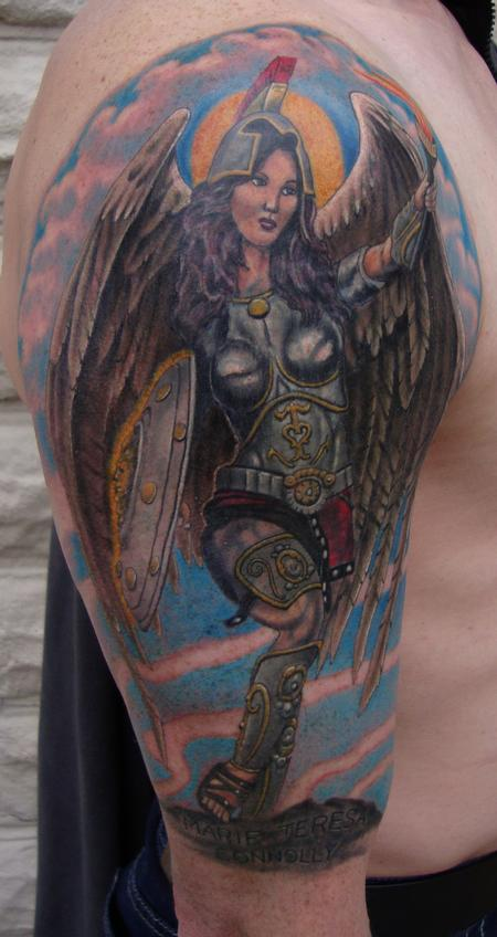 Tattoos - Guardian Angel - 98485