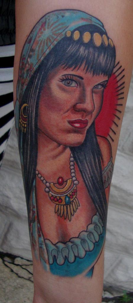 Tattoos - Gypsy Girl - 96456