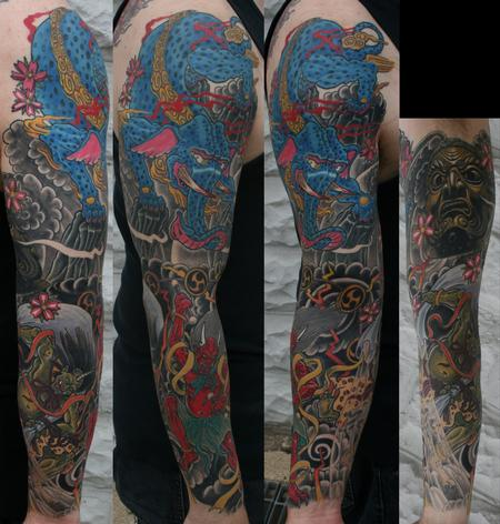 Tattoos - Japanese Sleeve - 114138