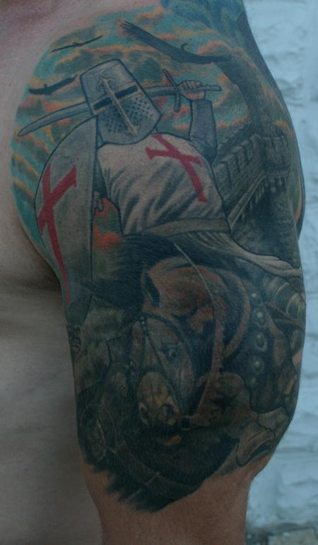Tattoos - Templar Knight - 114157