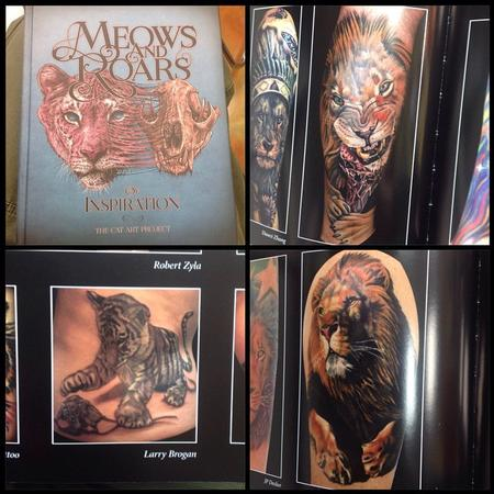 Tattoos - Meows and Roars of Inspiration - 103591