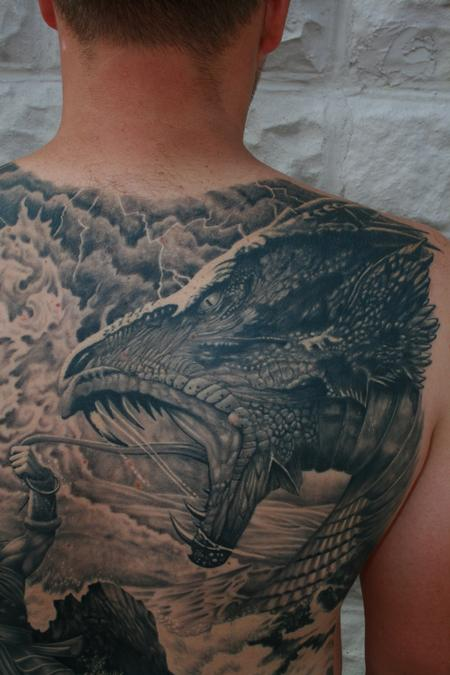 Tattoos - Midgard Serpent Close Up - 98380