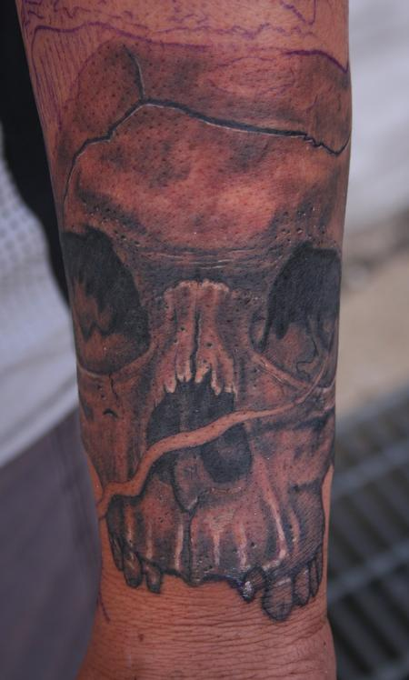 Larry Brogan - Skull Closeup