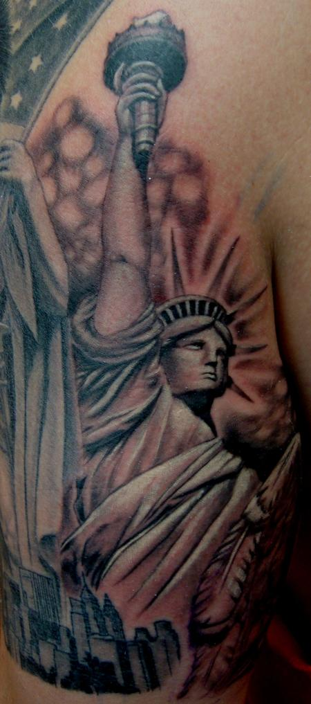Tattoos - Lady Liberty - 99183