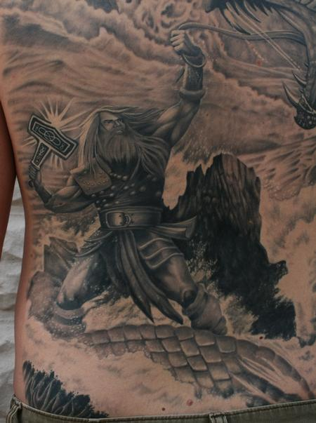 Tattoos - Thor Close Up - 98376
