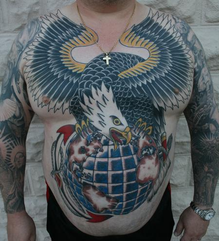 Tattoos - USMC Eagle - 97909