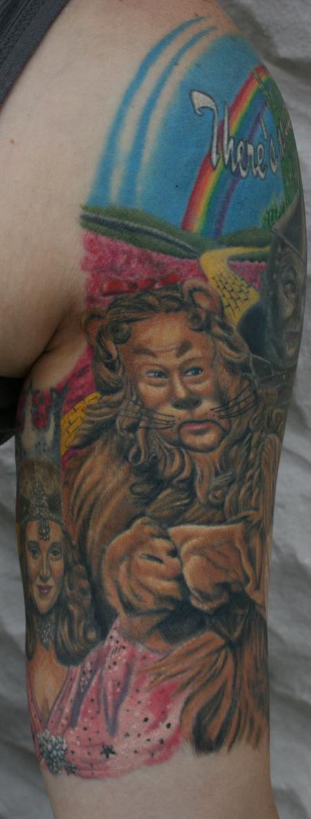 Larry Brogan - Cowardly Lion- Wizard of Oz