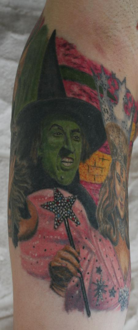 Larry Brogan - Wicked Witch- Wizard of Oz
