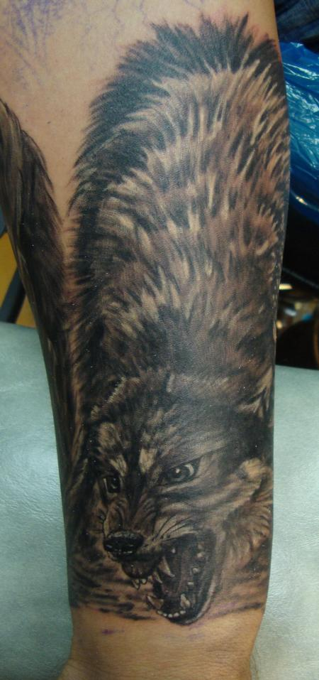 Tattoos - Vicious Wolf - 98981