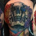 Tattoos - Chicago Blackhawks Iron Worker Skulls - 103751
