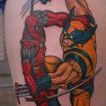 Tattoos - Deadpool VS Wolverine - 121973