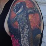 Tattoos - Astronaut Jesus Sleeve - 122409