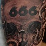 Tattoos - Tentacle Skull - 100741