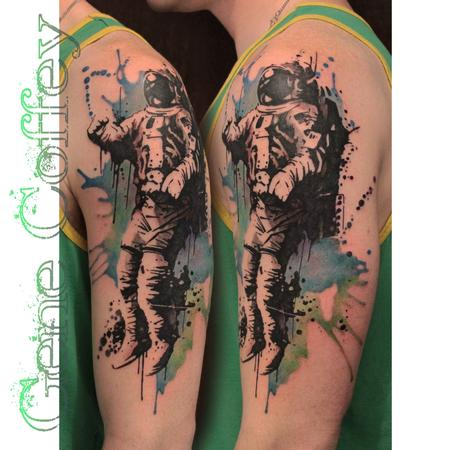 brand new astronaut tattoo-#40