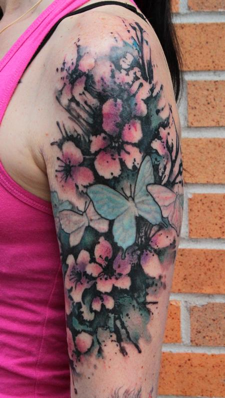 Gene Coffey - Cherry Blossom Tattoo