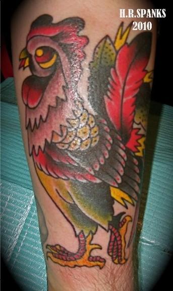 Rooster Tattoo Tattoo Design