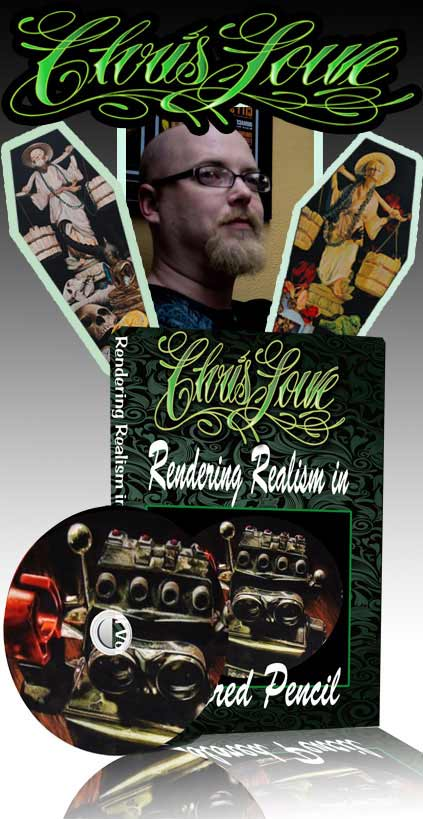 Chris Lowe: Rendering Realism In Colored Pencil DVD