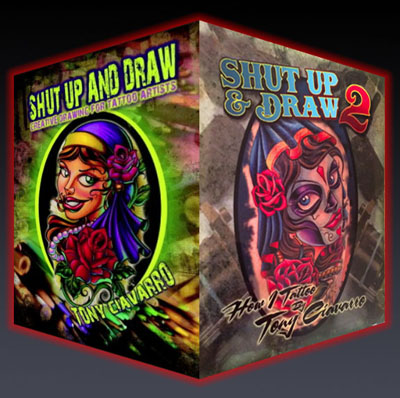 Tony Ciavarro's Shut Up And Draw Combo Pack 3 DVDs