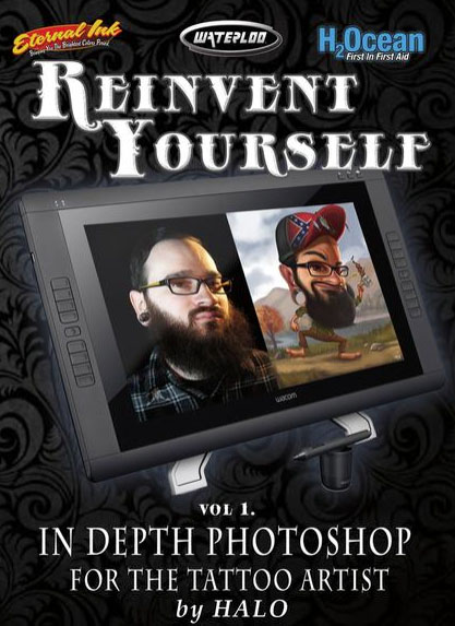 Reinvent Yourself: In-Depth Photoshop For The Tattoo Artist