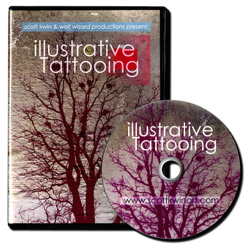 Webinar on Demand: Scott Irwin Illustrative Tattooing
