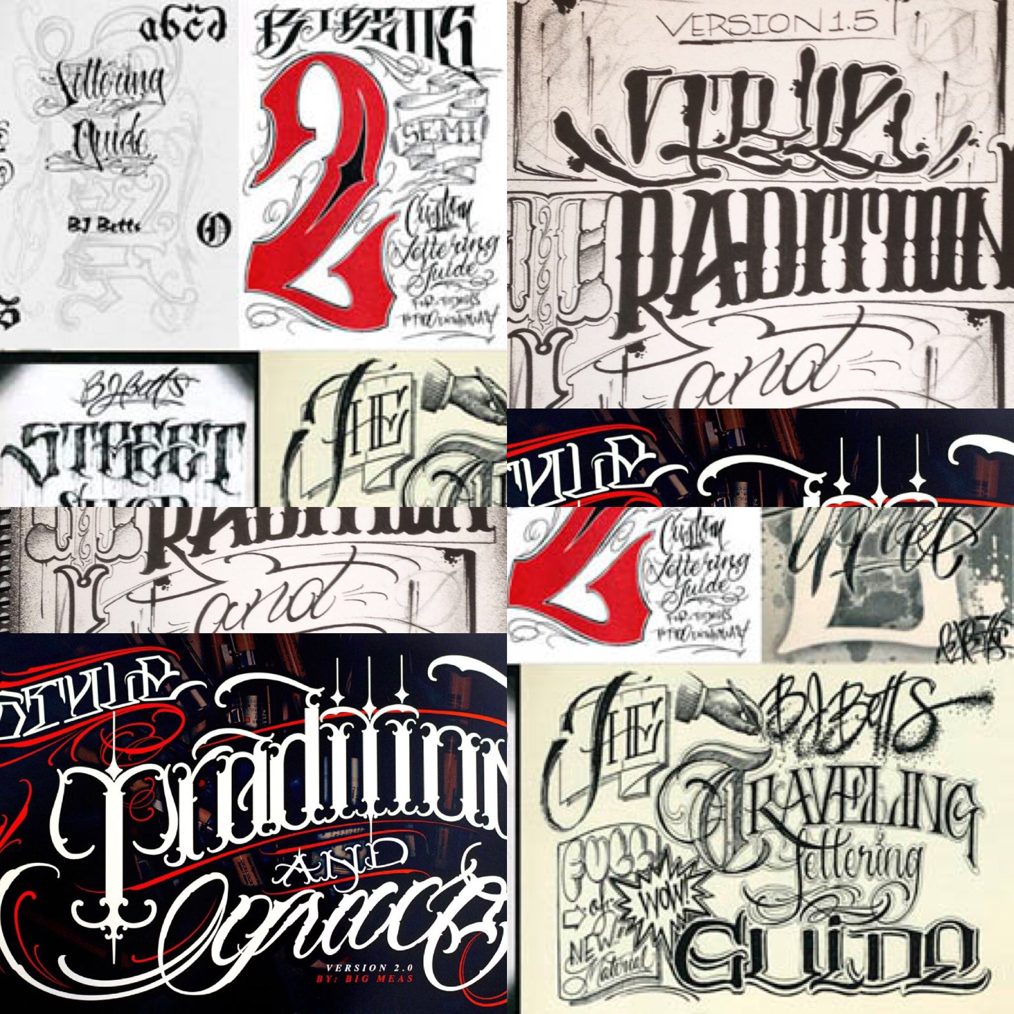 Lettering 7 Book Combo Pack - BJ Betts & Big Meas