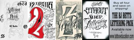 BJ Betts Lettering Pack