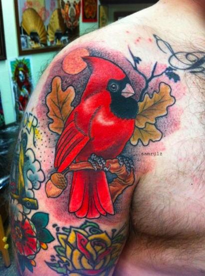 Paradise Tattoo Gathering : Tattoos : Sam Rulz : Cardinal Tattoo