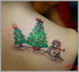 Christmas Tattoo Tattoo Design