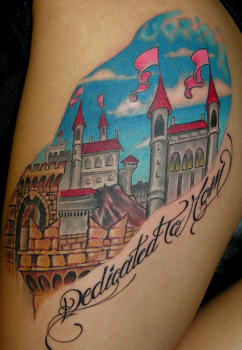 Looking for unique  Tattoos? Castle