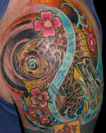 koi tattoo gallery. Koi Fish Tattoo Designs Ideas.