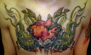 Looking for unique Realistic tattoos Tattoos?  Heart with vines