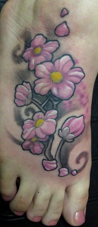 Looking for unique  Tattoos? Cheery blossom