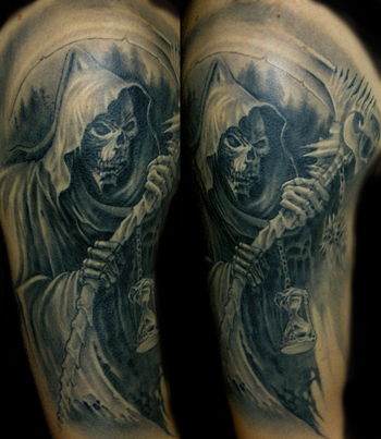 Looking for unique  Tattoos? reaper