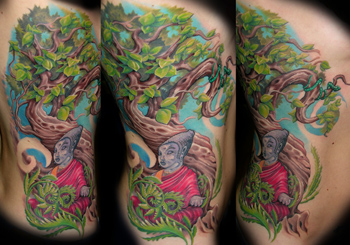 Looking for unique  Tattoos? Buddha and a tree