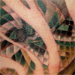 tattoo galleries/ - Rattle snake inner arm