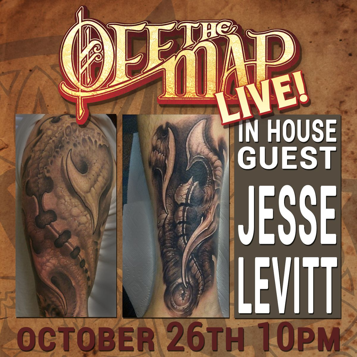 Off the Map LIVE! with Jesse Levitt