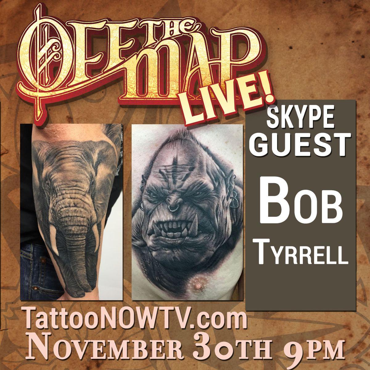Bob Tyrrell webcast