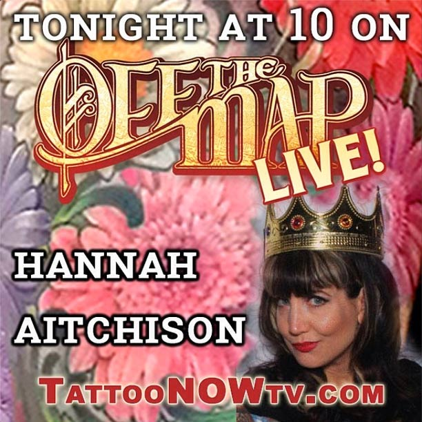 off the map live hannah aitchison