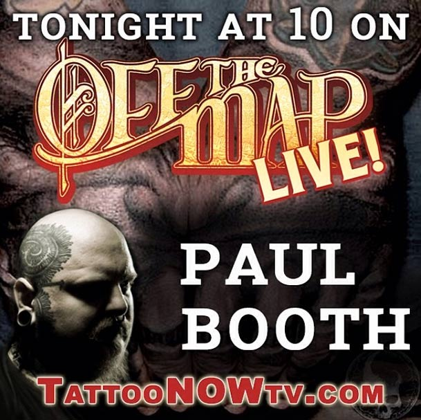 paul booth off the map live
